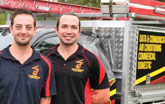 Sure Spark Electrical Team Reliabl contractor redcliffe