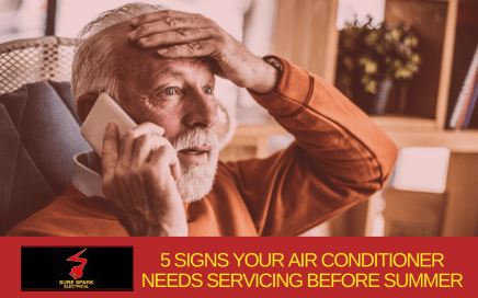 Air Conditioning Servicing Signs 436x272